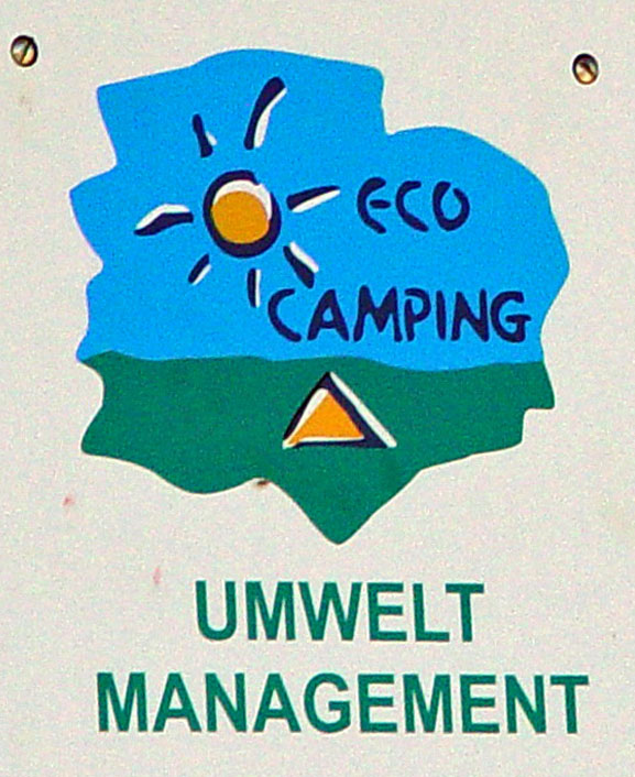 Campinf Silbermöwe St. Peter-Ording: Camping und Umwelt ECO-Camping Zertifikat